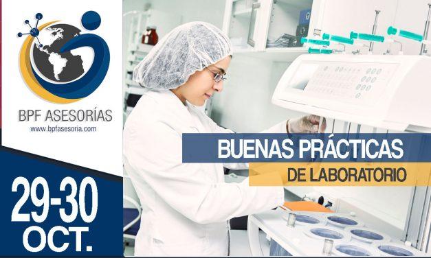 CURSO BUENAS PRÁCTICAS DE LABORATORIO